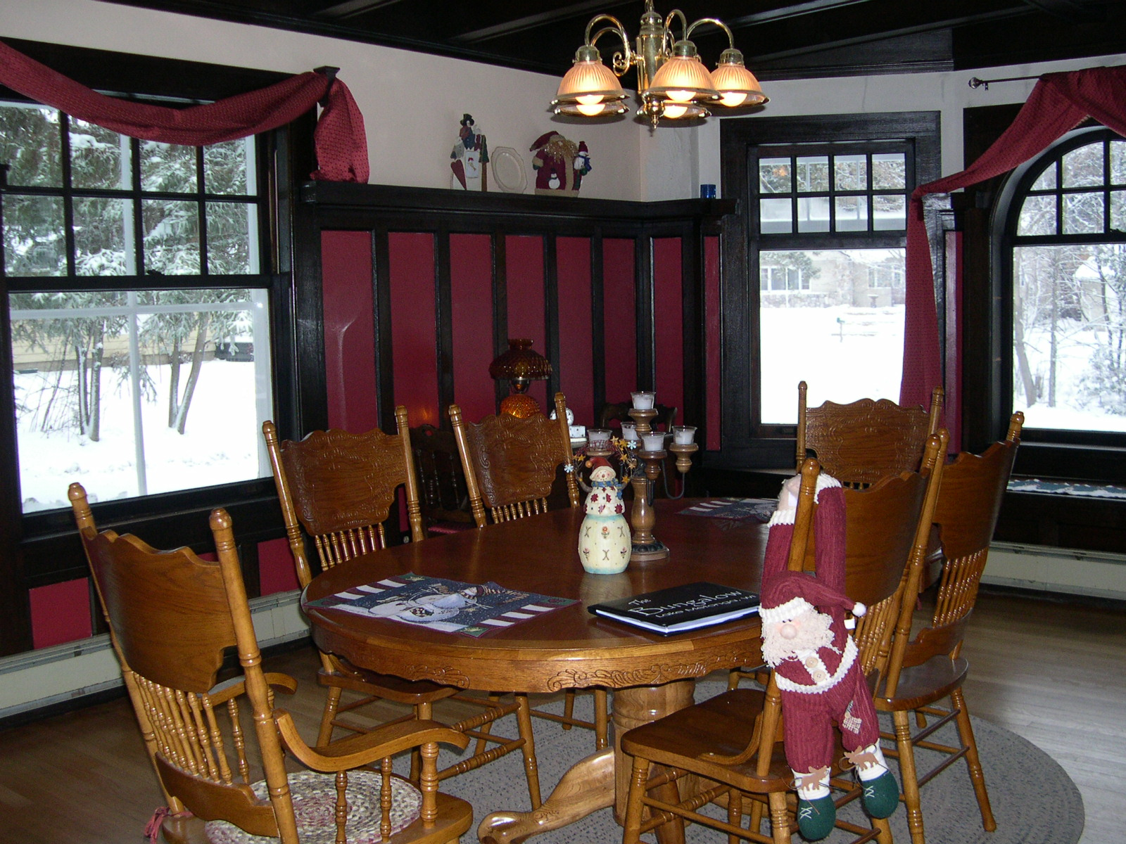 dining room - winter view